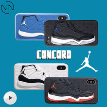6162c7639ce1 Hot Trend NBA 3D Air Dunk Jordan Sport Basketball Shoes Phone Cases for  iphone 6 6S