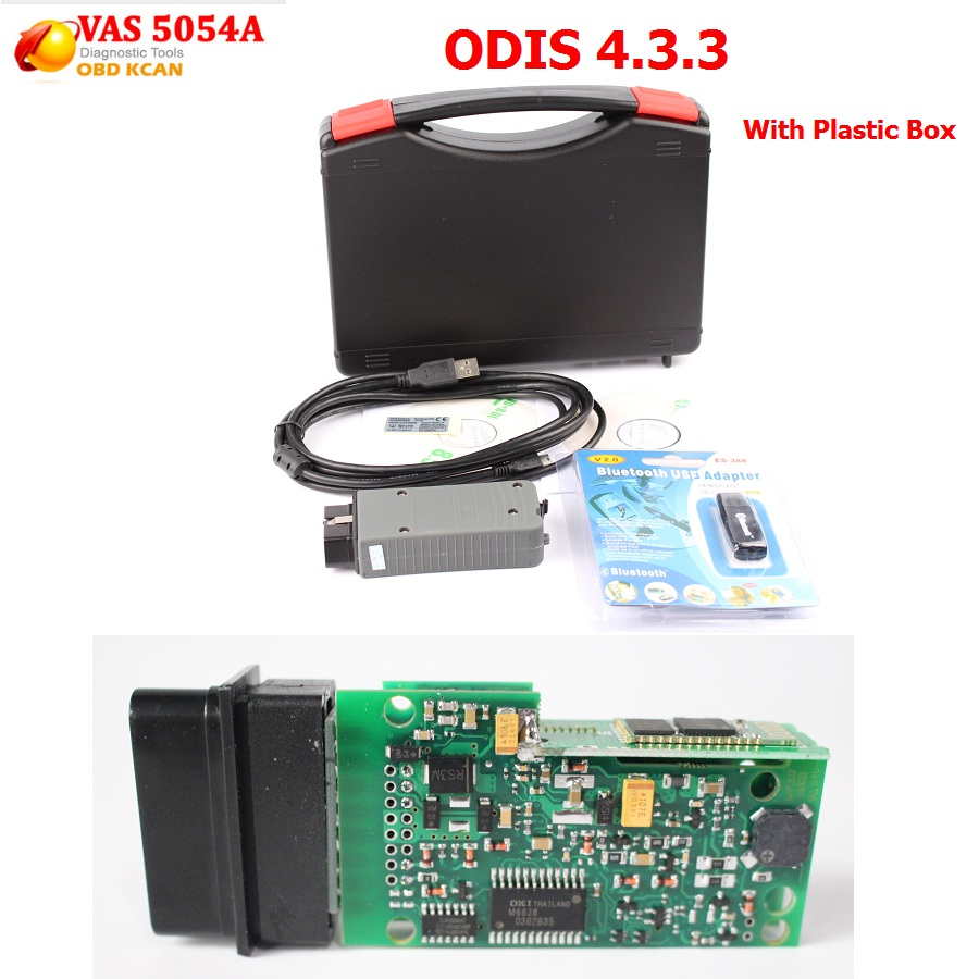 New VAS 5054A ODIS Bluetooth Support UDS Protocol With OKI Chip