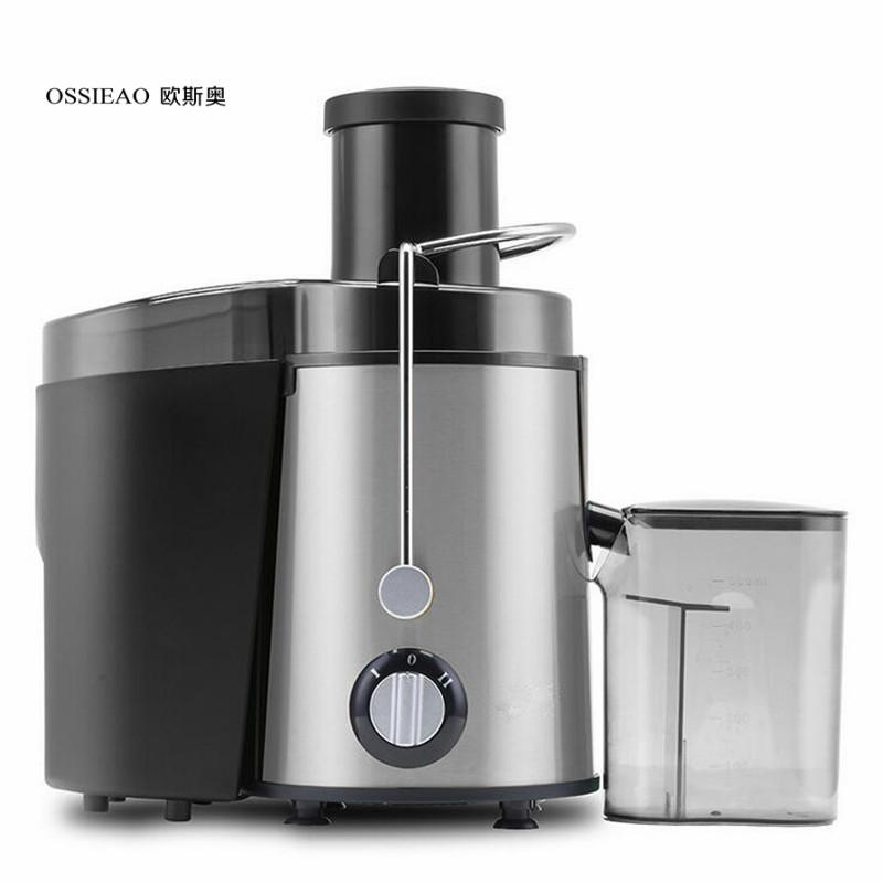 OSSIEAO Slow Juicer New Stainless Steel Automatic Slow Juicer Fruit Juice Extractor Squeezer of Kitchen Appliances 2016 stainless steel automatic slow juicer electric fruit juice machine cold press extractor squeezer of kitchen appliances