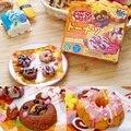 1 saco Popin cozinheiro Happy Donut DIY brinquedos. Kracie Donut cookin cozinha feliz doce japonês fazendo kit ramen