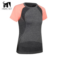 T Shirt Women Summer Sports Lady Top Fitness Shirt Female Brand Tees Europe And America Fashion
