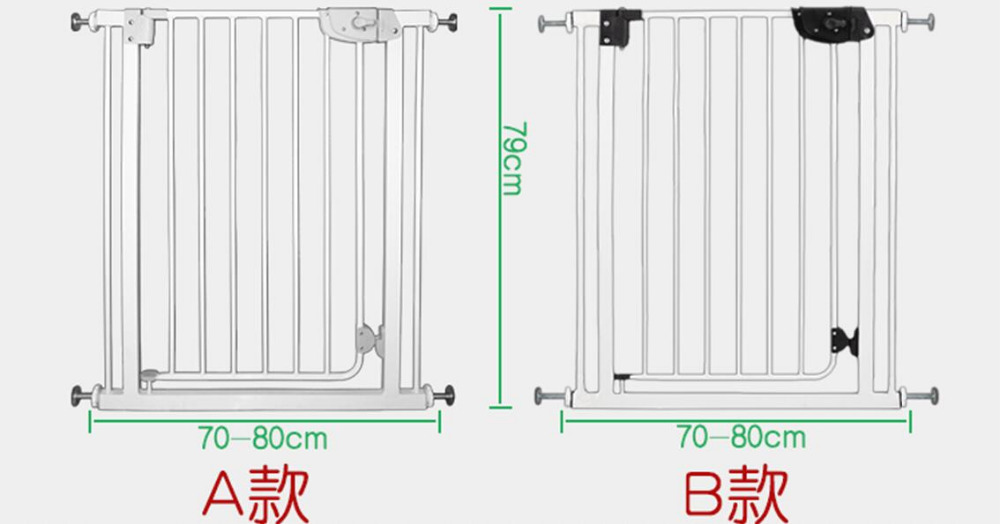High quality Stairs fence Children's safety gate Dog fence Balcony isolated door railing stairs balcony safety protecting net baby safety fence child safety products 2 3 meters white color