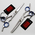 6 Inch KASHO Professional Stainless Steel Hair Scissors Salon Cutting and Thinning Hairdressing Shears  Blade Styling Tools