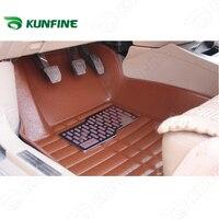 3D car floor mat for FORD FIESTA/FOCUS/MONDEO/ESCORT car foot pad 3 colors Left hand driver drop shipping