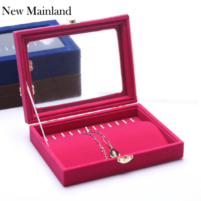 Necklace Display Boxes Bracelet Holder Pallet Jewelry Box Jewelry