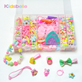 Children DIY Beads Sets Educational Toys Jewellery Hair Accessories Making Kits Puzzle Toy Exercise Kids Creativity Girls Gift