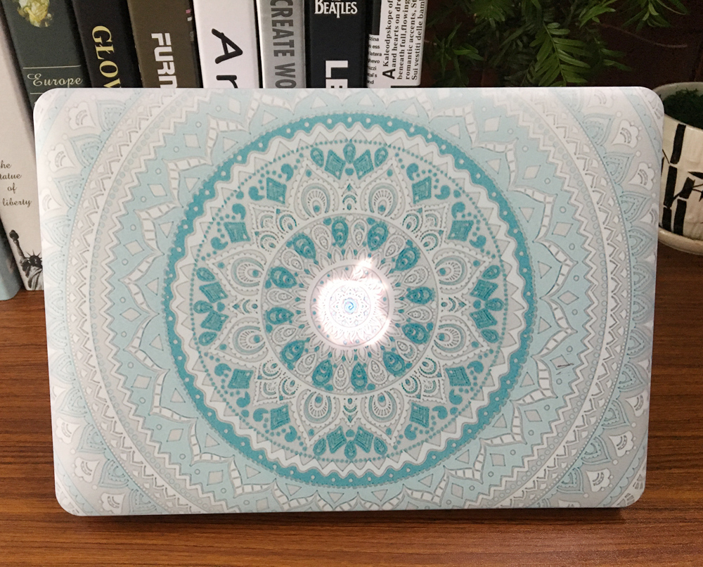 POSEIT Mandala pattern hard Case For Apple Macbook Air 13 Case 11 Pro 15 Retina 12 Laptop Bag For New Pro 13 Touch bar 15 Case redlai plant floral print hard case for apple macbook pro retina 13 3 12 15 4 sleeve air 11 13 3 new pro 13 15 a1706 laptop case
