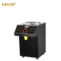 Commercial Syrup Fructose Dispenser Machine Candy dispenser for Bubble Tea Syrup Fill Machine