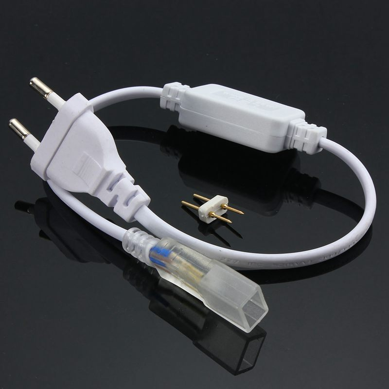 Excellent Quality EU Plug For 3528 3014 SMD LED Strip Lights Bars With 2Pins AC220V