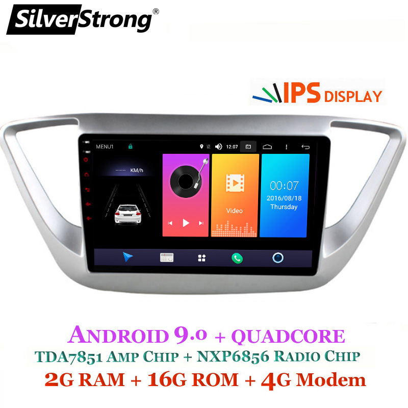 Mazda Cx 3 2 0 Sport Nav 5dr Hatchback: SilverStrong IPS Android9.0 Car DVD For Hyundai Solaris