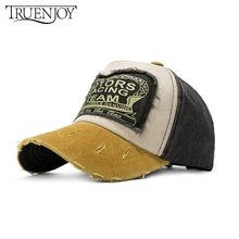 TRUENJOY Brand Men Baseball Caps For Women Snapback Caps Bone Hats Fashion Vintage Hat Gorras