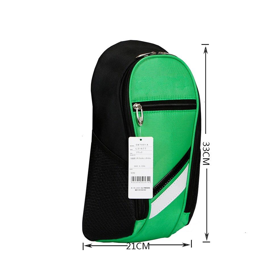 Golf bag 2017 New men's golf Crossbody  Boys Chest Sling Bag golf Shoulder Bag Small golf ball bag simulation mini golf course display toy set with golf club ball flag
