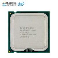 Процессор Intel Core 2 Quad Q9500 для настольных ПК четырехъядерный процессор 2,83 ГГц 6 Мб кэш-память FSB 1333 LGA 775 9500 б/у процессор