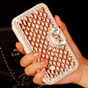 Gold Luxury Rhinestone Diamond Flip Leather Wallet Bag Stand Phone cases For Samsung Galaxy S6 s6 edge plus + S5 4 3 note5 4 3 2