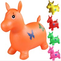 50 см Ездовые игрушечные животные прыжки лошади насос бесплатно для вас хороший подарок для детей