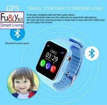 GPS Smart Watch Kids V7k Camera/Facebook SOS Call Location DevicerTracker for Kid Safe Anti-Lost Monitor PK Q90 Q80 Q750 Q60 Q50