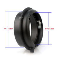 New Elinchrom to Bowens Interchangeable Mount Ring Adapter for Elinchrom Flash Strobe Speedlight accessories