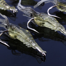 10 Pcs/Set Shrimp Simulation Lures