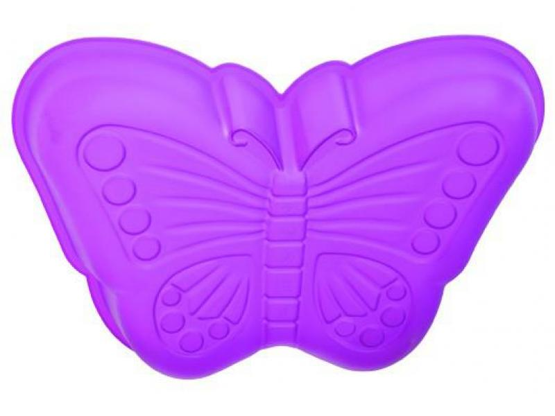 Mold for baking REGENT INOX, SILICONE, Butterfly, 24*33*5 cm форма для кекса regent inox silicone 24 5 16 5 3 5 см