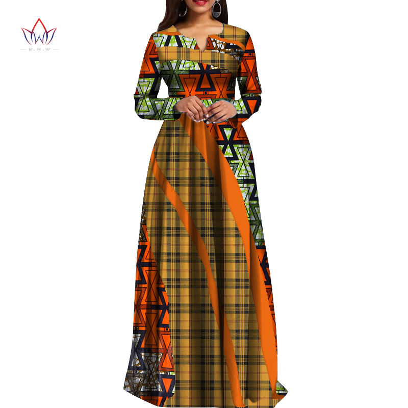 2019 2019 African Dresses For Women Fashion Design Dashiki Women Bazin  Riche Long Cotton Dress Dashiki Plus Size Regular 6xl WY4290 From  Luxuryoutfit, ...