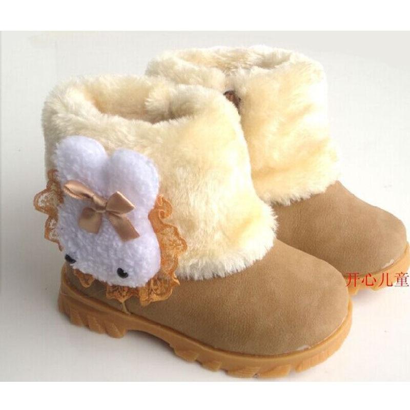 Winter-Childrens-Warm-Snow-Boots-Girls-Rabbit-PU-Leather-Platform-Winter-Boots-Princess-Short-boots-Kids-Winter-shoes-1