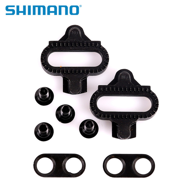 7e644b30c Shimano SPD SM-SH51 SM-SH56 Cleats Pair Single Release  Multi-Release Pedal  Cleats w  Cleat Nut Plates Float Mountain 2018