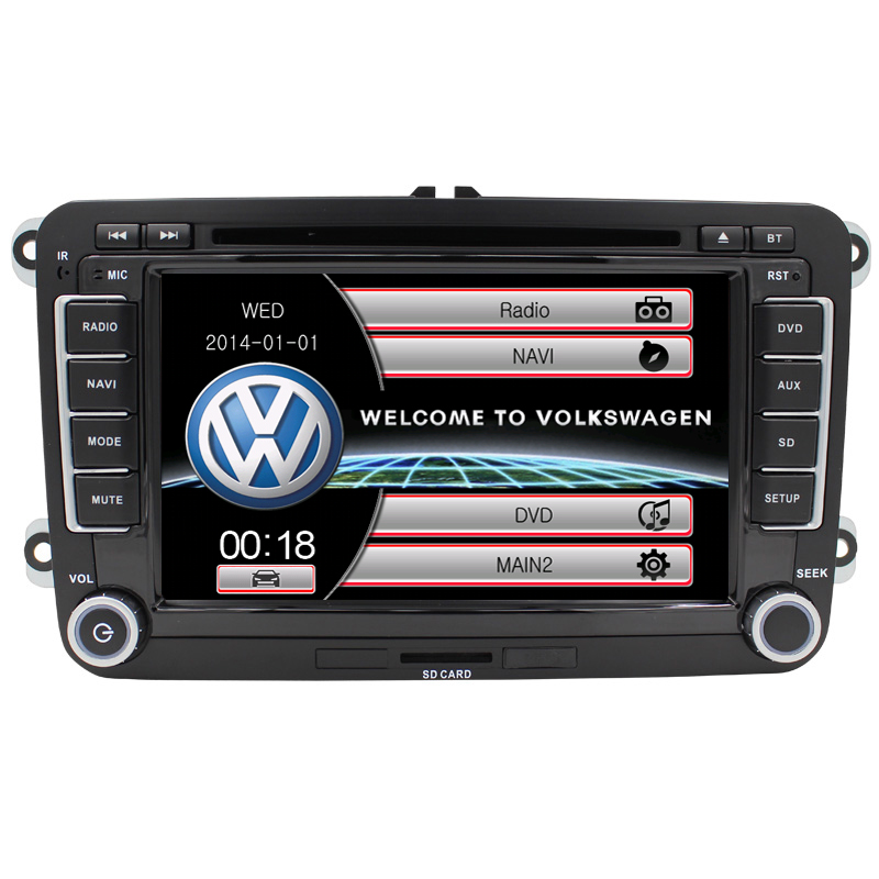 Radio Car DVD Player Wince6 0 Bluetooth For VW Volkswagen SKODA golf 6 passat b6 b7