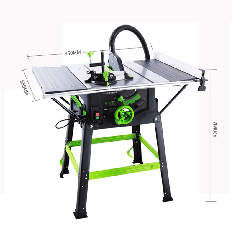 Multi-function Electric Dust-free Table Saw Woodworking Tools Small Table Saw Cutting Machine MWT-10TS
