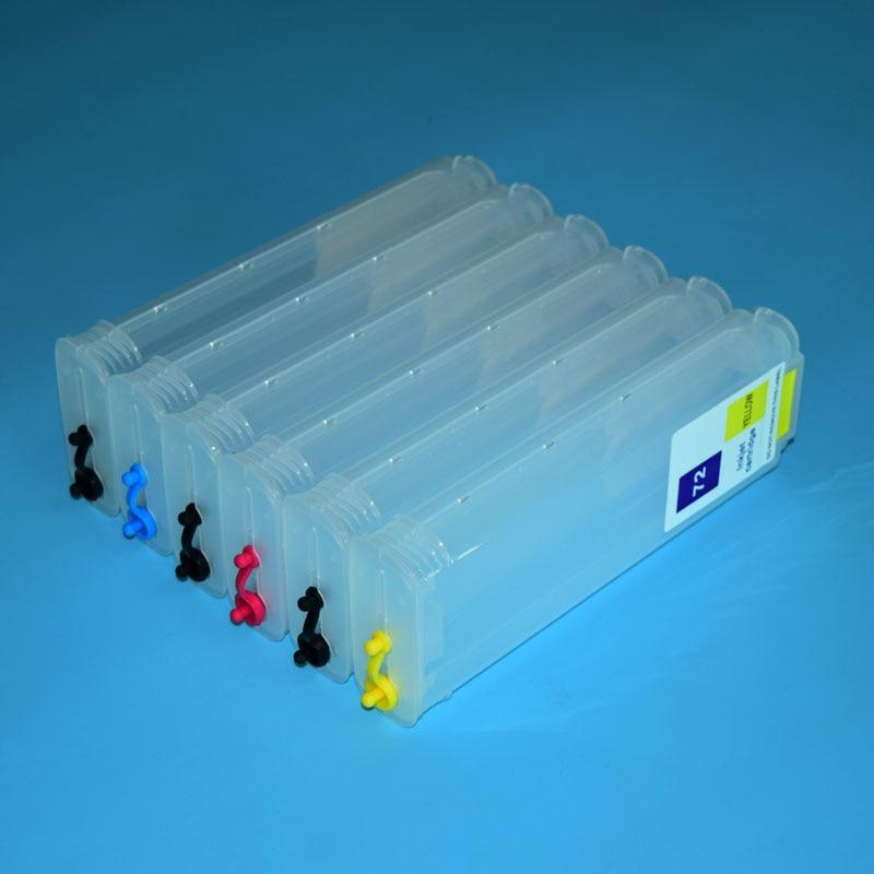 Boma. ltd 280ml HP72 Cartuccia di Inchiostro per HP 72 con ARC per HP Designjet t610 t620 t770 t790 t1100 t1120 t1200 t1300 t2300 stampante