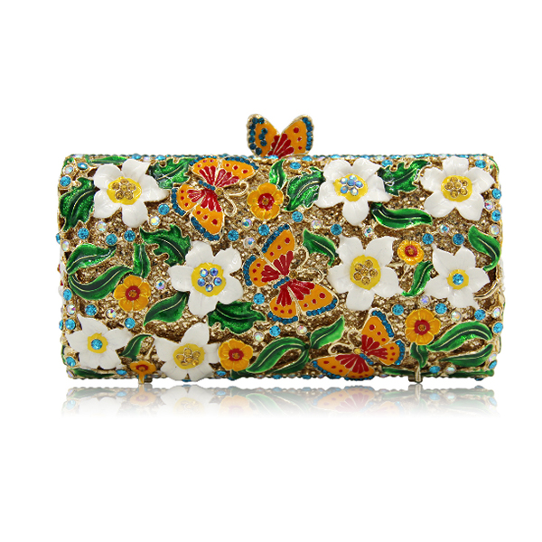 Women green Clutch Wedding Bags Female Vintage Clutches Ladies Beaded Pearl Evening Bags Party Purses red/white/purple/yellow tentop a two sided beaded fashion exquisite beaded evening bag noble elegant pearl clutches bags shoulder party bags white pearl