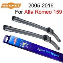 "QEEPEI For Alfa Romeo 159 2005-2016 Pair  23""+18"" Wiper Blade Accessories For Auto Car's Natural Rubber Wipers,CPA106-1"