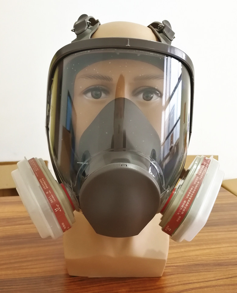 FGHGF 6800 Gas Mask add  3# 4# Cartridge suit Full Face Facepiece Respirator For Painting Spraying  Hot Sale 3m 6800 6006 full facepiece mask reusable respirator filter protection masks anti multi acid gas