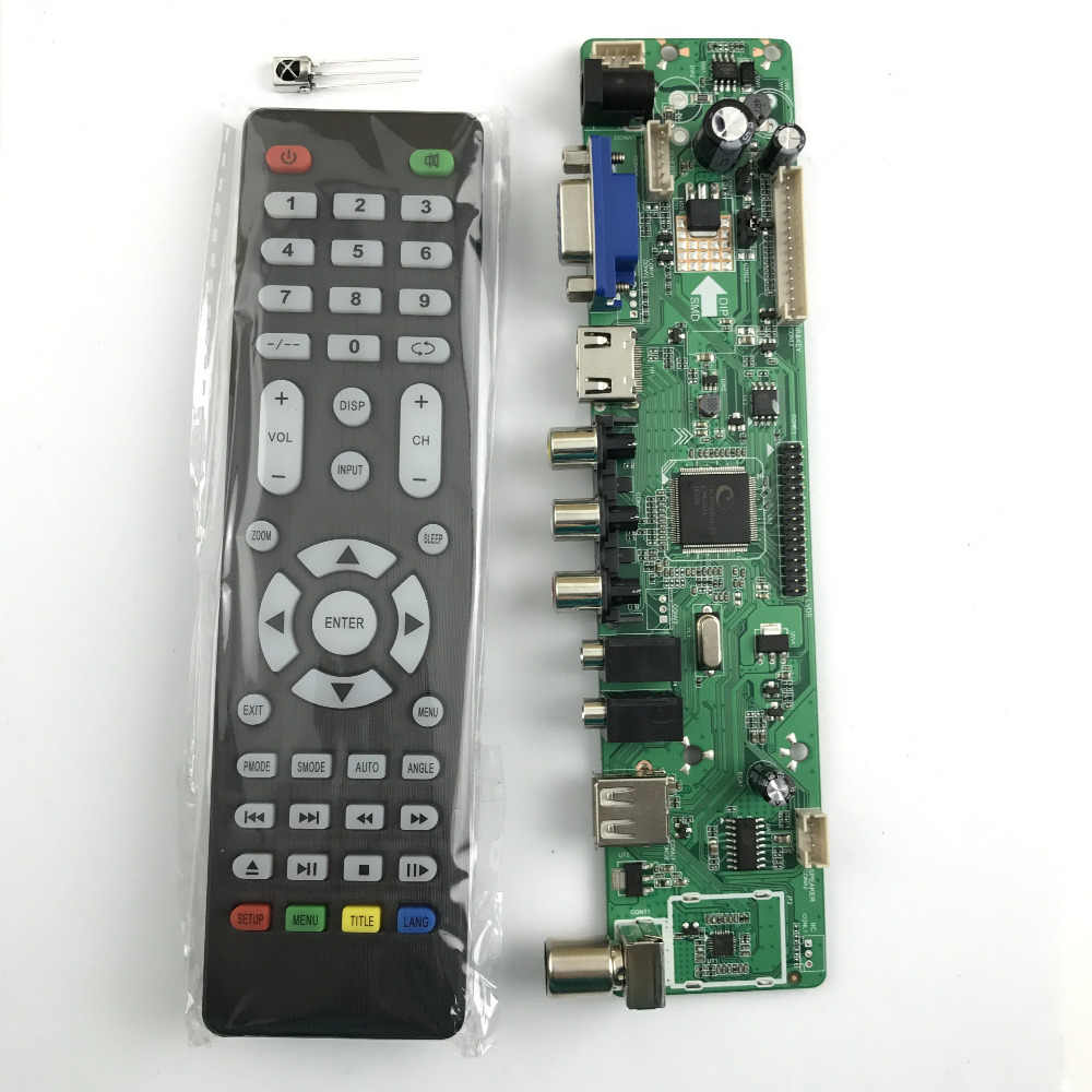 small resolution of  v56 universal lcd tv controller driver board pc vga hdmi usb interface 4