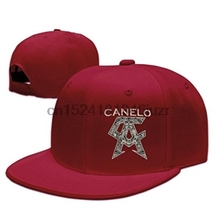 19fb009bd926c3 Tom Cool Unisex Classical Logo Canelo Alvarez Baseball Hip-hop Hat  Red(China)