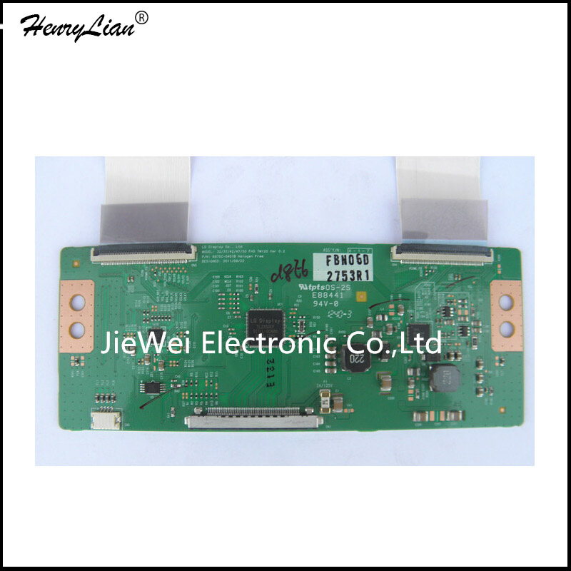 HENRYLIAN   1pcs T-CON Board LC 32 37 42 47 55 FHD TM120 VER 0.2 VER0.3 6870C-0401B 6870C-0401C For  LED LCD  Logic Board