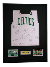 4e22dc067341 Ray Allen Kevin Garnett Paul Pierce signed autographed basketball shirt  jersey come with Sa coa framed