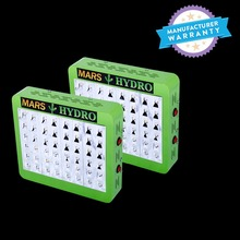 2PCS MarsHydro Reflector 240W LED Grow Light Lamp Full Spectrum Veg Bloom Lamp for Indoor Medicinal Plants