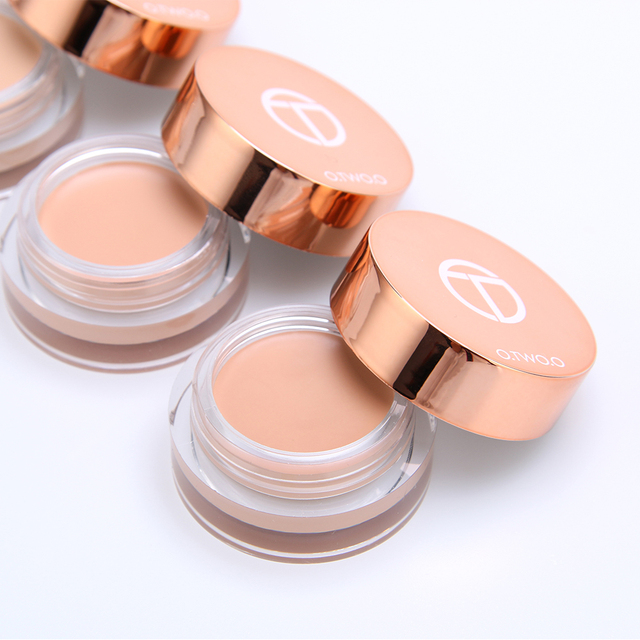 O.TWO.O Eye Primer Concealer Cream Makeup Base Long Lasting Concealer Easy to Wear Cream Moisturizer Oil Control Brighten Skin 4
