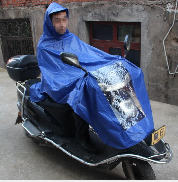 Electric car / motorcycle raincoat poncho double-sided adhesive waterproof raincoat. Portable / office workers