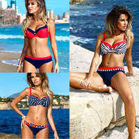 La MaxPa Bikinis Set Swimwear Women 2018 Summer Girls Sexy Bikini Push Up Multicolor Swimming Suit