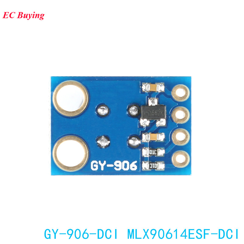 Image 4 - MLX90614ESF DCI Sensor Module MLX90614 Infrared Temperature Sensors GY 906 DCI IIC Connector Long Distance Electronic DIY PCB-in Integrated Circuits from Electronic Components & Supplies