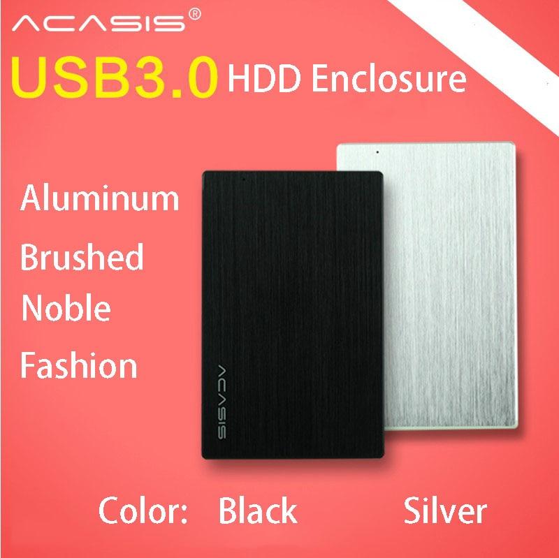 ACASIS FA-2013US 2,5 дюймов Тетрадь HDD корпус SATA USB3.0 Переносной жесткий диск Box 5 Гбит/с 2 Цвет все-алюминий