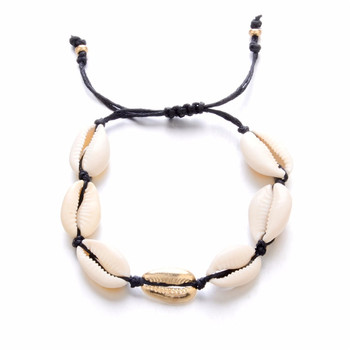 Bohemian Puka Sea Shell Conch Anklets For Women Ankle Bracelet on Leg Chain Silver Gold 2