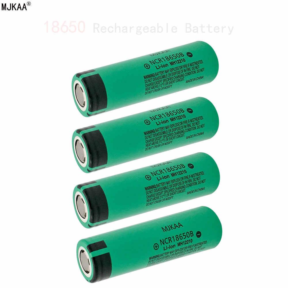 Cncool 3.7 فولت 18650 بطارية لباناسونيك Vape E-السجائر مصباح يدوي NCR18650B ليثيوم أيون بطارية قابلة للشحن 4600Mah 3.7 فولت خلايا