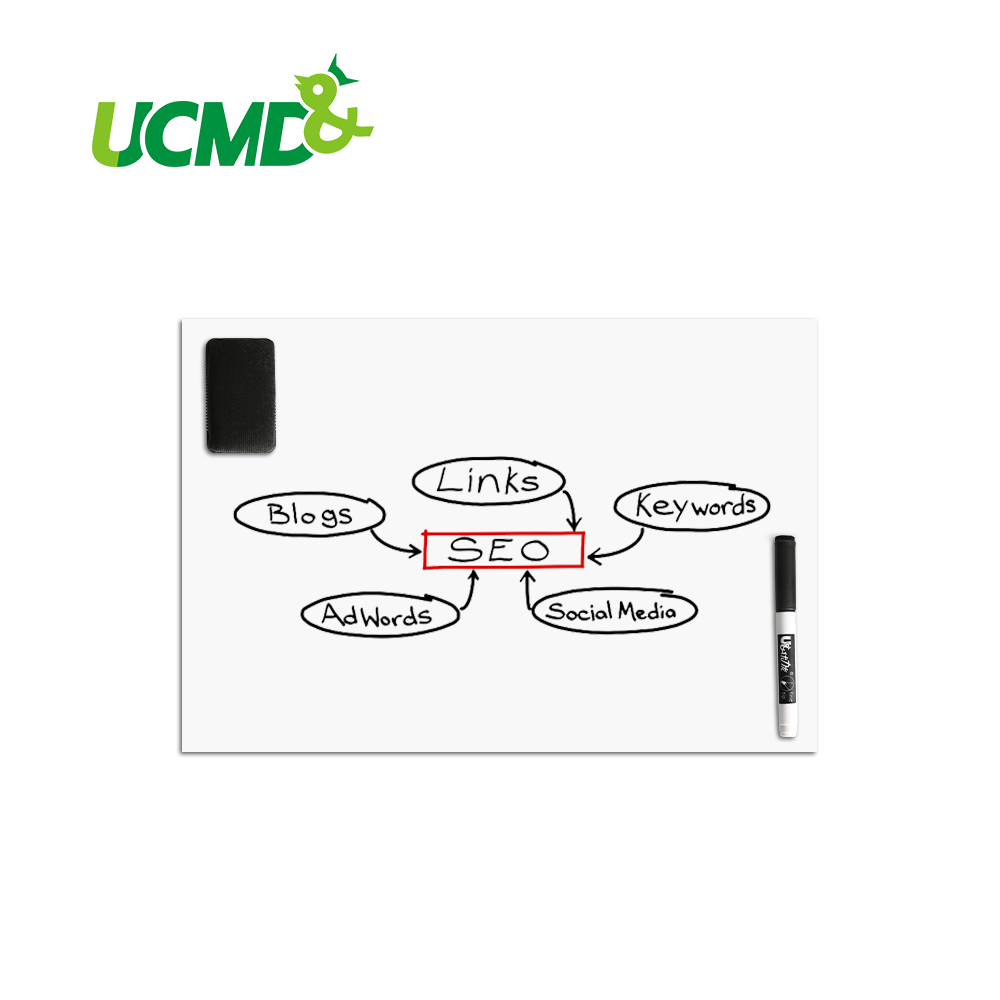 Magnetic Boards for Refrigerator Whiteboard 16*13 inch 0.5 mm thick Dry Wipe Shopping List Message Board zhidian 32 24soft magnetic whiteboard dry erase board white wall back without glue don t damage metope t 0 3mm