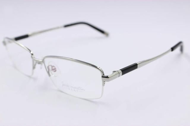 Moda Armação de Óculos 2016 Homens Frame Ótico Óculos Claros Óculos de Leitura lente Computador Miopia Armação De Titânio Masculinos Populares TG81539