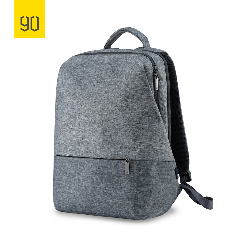 Xiaomi 90FUN City Concise Backpack Anti Theft Zipper 14 inch Laptop Bag College School Business Men