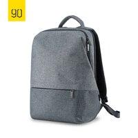Xiaomi 90FUN City Concise Backpack Anti Theft Zipper 14 inch Laptop Bag College School Business Men Women Casual Daypack Grey