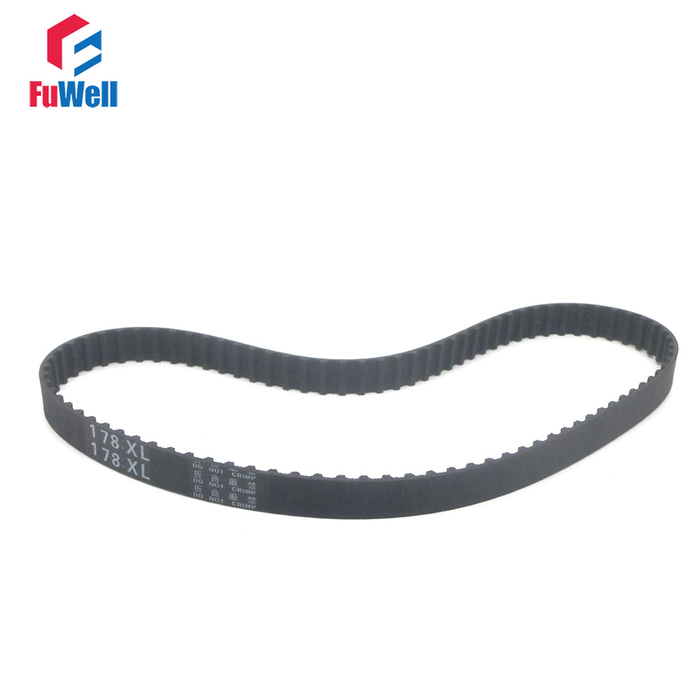 174XL/176XL/178XL/180XL/182XL/184XL/186XL/188XL/190XL/192XL/194XL Timing Belt 10mm Width Rubber Gear Belt Toothed Pulley Belt174XL/176XL/178XL/180XL/182XL/184XL/186XL/188XL/190XL/192XL/194XL Timing Belt 10mm Width Rubber Gear Belt Toothed Pulley Belt