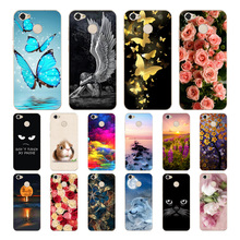Geruide ZTE Blade A6 5.2 Case Cover, Soft Silicone Back Cover For A 6 Phone for zte a6 a skin shell